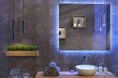 Inloopdouche Met Badkamerspiegel : Topline badkamerspiegel met led verlichting cm make up