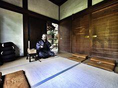 Zen Buddhist priest in Kyoto