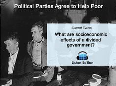 Surprisingly, both parties agree to help the poor - but they differ in how. Learn why state aid is at the heart of the issue: http://www.listenedition.com/2014/01/16/political-parties-agree-to-help-poor/