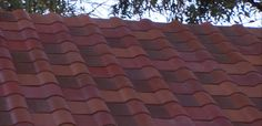 Lastly, Tesla's Tuscan glass tile offering. The roof shown at the event wasn't exclusively made up of Tesla's Tuscan tile. Instead, only the darker tiles seen here come with the solar cells.