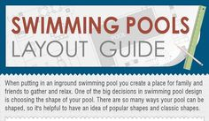 swimming pool layout How to Choose the Perfect Swimming Pool Layout for Your Home [Infographic]