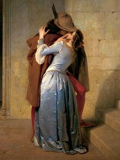 El beso -Francesco Hayes 1869-