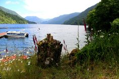 Lake Crescent. I've stopped and taken pictures, but really want to camp here or stay at the lodge.