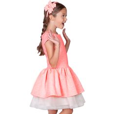 BROCARD PORTOCALIU NEON - ROCHITA ANIVERSARE Ballet Skirt, Skirts, Dresses, Fashion, Tulle, Vestidos, Moda, Tutu, Skirt