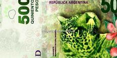 Comienza a circular billete de $500 con la imagen del yaguareté