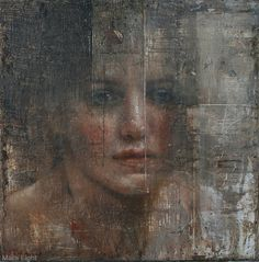 Mara Light's Female Subjects Emote Through Textured Layers | Hi-Fructose Magazine