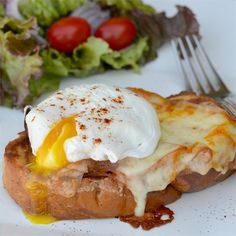 """Chef John's Monte Cristo Benedict 