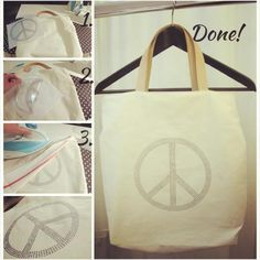 ♥Peace, Love & LilyJoe♥ The perfect bag for the beach and festival?DIY with our Paloma Peace. http://lilyjoe.se/products/masterpeace