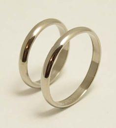 ALIANZAS DE ORO BLANCO 18KLTS. de Joyerias Karin sobre Alianzas en Buenos Aires - Casamientos Online