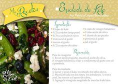 Receta: Ensalada de Kale