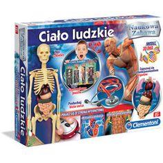 Clementoni, gra edukacyjna Ciało ludzkie-Clementoni