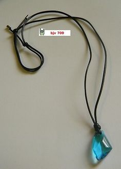 H2O Just Add Water H20 Swarovski Aquamarine Crystal Cleo's Necklace | eBay