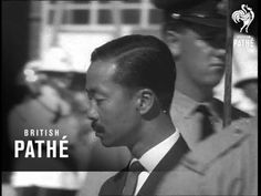 No title - South Vietnam's Air Vice Marshal Nguyen Ky visits Canberra, Australia. M/S Marshal Ky walking past camera to group of people. C/U's Ky talking to . South Vietnam, Vietnam War, Military Guard, Lemur, Ao Dai, Documentaries, Youtube, Youtubers, Youtube Movies