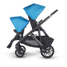 Everything's coming up Cinderella blue! We love this double stroller from UPPAbaby