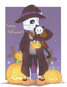 sans, papyrus, undertale, littletale, halloween