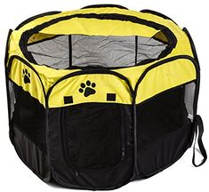 Unique Petz Portable PlayPen - Medium Unique Petz https://www.amazon.com/dp/B01K0IURDQ/ref=cm_sw_r_pi_dp_x_nhFhybM6B6T9J Prime Petz Portable PlayPen will make taking your pooch outside to be with you a breeze take advantage of our sale going on NOW! Enter this PROMO code TM5T8C37 at Amazon checkout for a 60% SAVINGS!