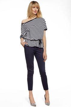 Women trousers model 74580 Enny. Cotton 47 % Spandex 3 % Polyester 50 %       Size Lenght Hips width Waist width    36 93 cm 88 cm 74 cm   38 93 cm 92 cm 78 cm   40 93 cm 96 cm 82 cm   42 93 cm 100 cm 86 cm