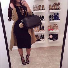 "Search: ""Kara Dress"" Search: ""Manhattan Coat"" Search: ""Alexis"" Heels ✨www.FashionNova.com✨"