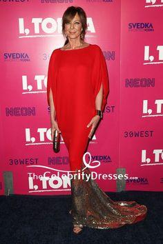 Allison Janney Red M