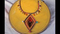 Neck design for dresses   Beginners tutorial hand embroidery - kurti DIY