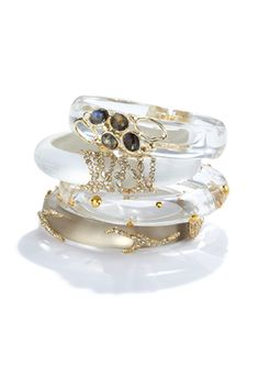Mix, match and stack your Alexis Bittar bangles!
