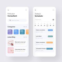 🤩 Find your Consultant Mobile App UI Design . Timeline App, Design Web, App Ui Design, Site Design, Flat Design, Design Trends, Dashboard App, Dashboard Design, Mobile Ui Design
