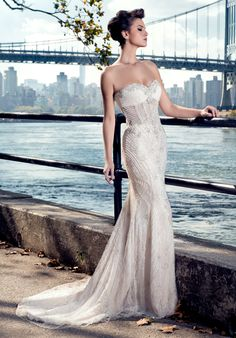 Stephen Yearick 2015 wedding dresses available at Dimitra's Bridal Couture Chicago.  www.DimitrasBridal.com.  #StephenYearick  #bridalgown #weddingdress #weddings #engaged  #beaded #sweetheart #strapless #classic #vintage #whimsical  #luxuryweddings #classicwedding #timeless #feminine #chicagobrides #chicagobridalboutiques  #romantic  #sparkle #weddinggown  #contemporary #modern #bride #brides #hautecouture #designerweddingdress #uniqueweddingdress #vintageweddings #rusticweddings