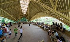 The Green School—  Deep within the jungles of Bali, a school made entirely of bamboo seeks to train the next generations of leaders in sustainability.