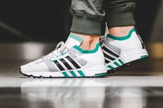 adidas EQT Cushion Primeknit Sub Green - Sneaker Bar Detroit
