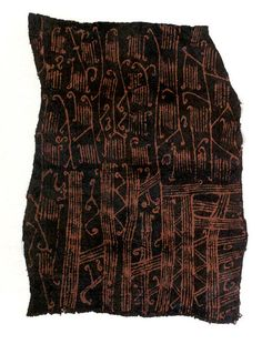 Painted Barkcloth | Mbuti peoples | The Met