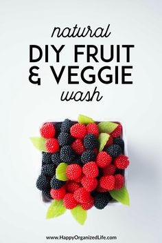 Did you know the produce you're bringing home from the grocery store is probably pretty dirty? Yep, even if you're buying organic! This simple and natural DIY fruit and veggie wash is a must use before eating.  #fruitandveggiewash #fruitandveggiewashdiy #fruitandveggiewashhomemade #fruitandveggiewashessentialoils #fruitandveggiewashyoungliving #fruitandveggiewashnorwex