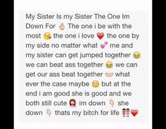 sisters by chance friends by choice {b.b.k}