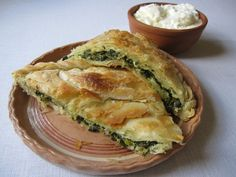 ZELNIK (PIE) WITH NETTLES ~ Macedonian Cuisine