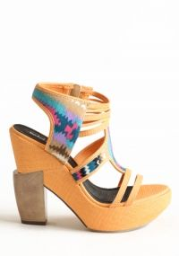 Out of Town Platform Heels