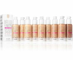 Benefit Hello Flawless Oxygen Wow Brightening Make Up Makeup Tricks, Fun Makeup, Liquid Foundation, Hello Flawless Oxygen Wow, Flawless Face Makeup, Flawless Skin, Get Rid Of Blackheads, Sagging Skin, Packaging