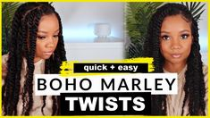 IG: # diy protective styles for natural hair marley twists Hour PROTECTIVE Style Marley Twist Hairstyles, Cool Hairstyles, Natural Hair Care Tips, Natural Hair Styles, Short Marley Twists, Natural Hair Highlights, Diy Hair Dye, Quick Braids, Black Hair Growth