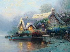 Lochaven Cottage - Thomas Kinkade