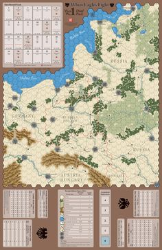 1914: When Eagles Fight - GMT Games