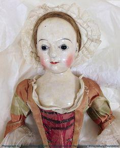 Two Nerdy History Girls: A Beautiful Georgian Doll, 1740-1760