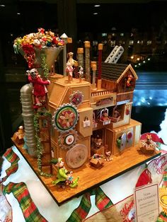 National Gingerbread House Competition at Grove Park Inn--amazing edible art!