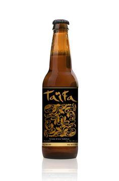 Cerveza artesanal andaluza Taïfa, diseño andaluz.