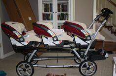 triplets stroller... hahaha who would have thought I needed this! :)