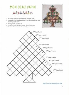 A cute easy way to use squares for a Christmas wall hanging. - A cute easy way to use squares for a Christmas wall hanging. A cute easy way to use squares for a Christmas wall hanging. Christmas Quilting Projects, Christmas Patchwork, Fabric Christmas Trees, Christmas Wall Hangings, Felt Christmas Decorations, Christmas Tree Ornaments, Applique Wall Hanging, Hanging Fabric, Fabric Decor