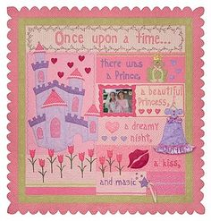 This is the cutest quilt you could make for a little girl...