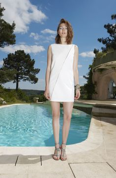 Axara Look book Printemps-Ete 15 . Dress - 191494 . Made in France