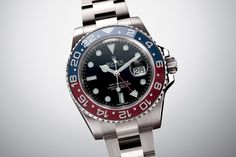"""Rolex """"Pepsi"""" white gold / code name 116719 BLRO or GMT Master II .. Another iconic watch :)"""