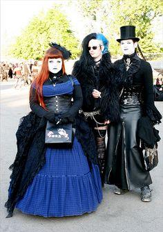 Gothic Wedding party