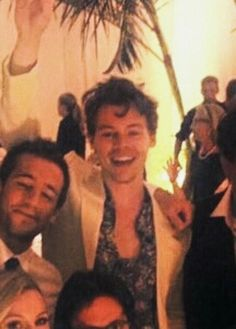 harry at a wedding in hawaii