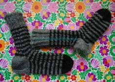 Rosa Nähzimmer ♥ Lyserød systue: Socken/Sokker