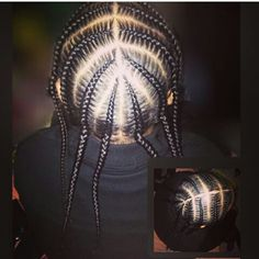Asap Rocky braids
